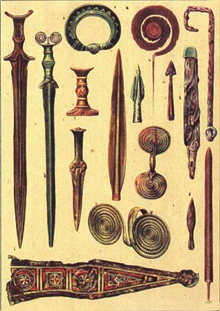 Bronze Age Artifacts
