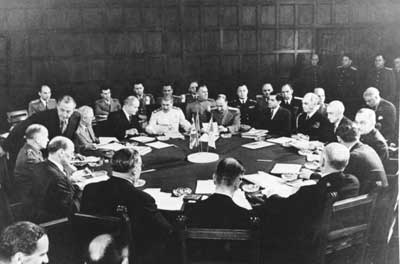 History Of Potsdam Conference