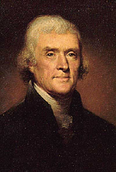 a biography and life work by thomas jefferson 3rd president of the united states Thomas jefferson changed the world, and he did it with a pen he was the first secretary of state, the second vice president and the third president of the united states.