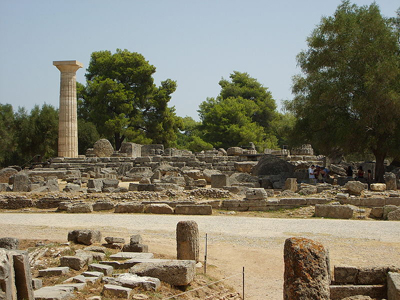 What Is The Date Of The First Ancient Olympics